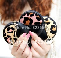 Wholesale Leopard Print Genuine Leather Purse - Kqueenstar 2015 fashion leopard print horsehair genuine leather women's coin purse coin case