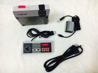Wholesale Mario Game Console - HOT NTD mini FC high definition game console 30 classic retro games mario 3 one controller