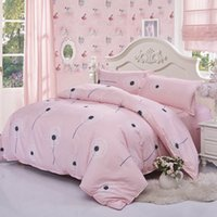 Wholesale Flannel Sheets - home textile brick flannel comforter bedding-set sabanas 4 pcs of bed linen duvet cover bed sheet king size A20 Free shipping