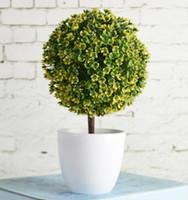 flores artificiales bonsai al por mayor-Caliente Bienvenida Sakura Emular Bonsai Simulación Flores Decorativas Artificiales Plantas Adornos Decoración Para El Hogar