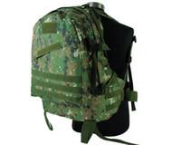 Wholesale Woodland Molle - USMC 3-Day Tactical Molle Camel Pack Assault Backpack Men Travel Backpack Military Laptop Backpack Climbing Bag Digi Woodland