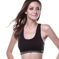 Wholesale Seamless Leisure Sports Bras - Wholesale-2016 New Women Seamless Walk Vest Lace Sports Leisure Underwear Bra Tank Crop Tops Hot ZT1