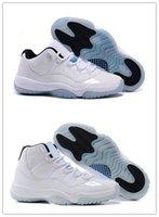 Wholesale Good Sale Boots - Cheap sale new (11) XI Legend Blue Basketball Shoes Good Quality Men Sports Shoes Women&mens Trainers Athletics Boots Retro 11 XI Sneakers