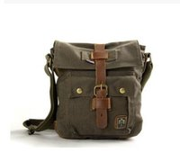 Wholesale Ipad Flap - AKARMY canvas bag man casual shoulder bag dedicated for IPAD canvas bag diagonal small bag 551