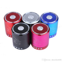 Wholesale fedex shipping materials for sale - T2020A Angel bluetooth Speaker Card USB Speaker computer phone MP3 player metal material with MIC DHL Fedex YX