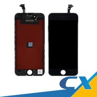 Wholesale Iphone Screen Repair Wholesale - Replacement Lcd Digitizer For iPhone 6 Lcd Black White 4.7 Display Repair Touch Screen Digitizer Assembly No Dead Pixel Free DHL