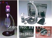 Wholesale Led Wine Aerator - Hot Sell Decanter Wine Aerator Set LED Magic Decanter Tower Full Gift Set Wholesale 8sets lot DHL Free Shipping 0419xx
