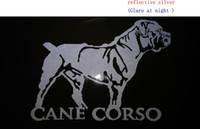 Wholesale Italian Oil - Cane Corso cane da corso Cane Corso Italian dog cat   vinyl decal lg Truck Dog Car Decal Vinyl Sticker