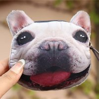 Venta al por mayor Corea Mini Open Mouth Animal Coins Purses Womens Personalized Monedero Zipper Wallet Para Niños Bolsa Dinero Niñas