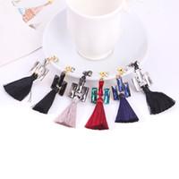 Wholesale Heart Ornaments Wholesale - fashion tassel earrings female personality ornaments cubic zircon earring long earrings jewelry