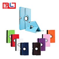 Para Apple iPad mini 2 3 4 Case Lichee Pattern Case Moda 360 Degree Rotation PU Leather Stand Cases