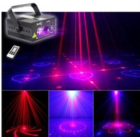 ingrosso luci blu del partito del laser-Nuovo RB 40 Patterns Z40RB Laser Light Blue LED Stage DJ Home Party Show completo Club Bar Colorful Christmas Music natalizio