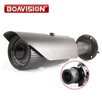 HD 1080P Bullet IP Camera 2MP POE Waterproof Mobile APP View Onvif P2P Auto Iris 2.8-12mm VariFocal lente Câmera CCTV IP ao ar livre