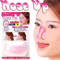 Wholesale Nose Up Beauty - Fashion Nose Up Shaping Shaper Lifting Bridge Straightening Beauty Nose Clip Face Fitness Facial Clipper corrector Free DHL