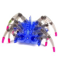 8-11 Year Old Kid Toy Plastic Electronic Pet DIY Spider Robot Automático Moving Educacional Aniversário Gift For Boys Children