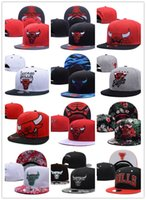Wholesale Bulls Balls - Top Quality wholesale Newest Brand Hip Hop Bulls Gorras Snapback Fashion Adjustable Basketball Baseball Cap Hat Bones Chicago Free Shipping