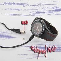 Wholesale Wrist Pocket Watch - 10pcs New mini camera 2015 Electric 8GB Hidden Mini DV DVR SPY Camera Camcorder Video Recorder 720*480 P Pocket Wrist Watch