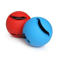 sons do telefone mp3 venda por atacado-Bola mágica Bluetooth Mini Speaker Sem Fio Subwoofers Portáteis Caixa de Som Estéreo TF MP3 Player de Música FM Handsfree para o Telefone 165