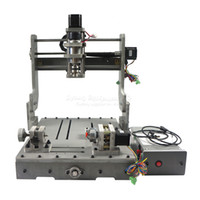 Wholesale Machines Engrave Wood - Engraving machine DIY 3040 4axis CNC Drilling and Milling Machine for wood, plastic, wax, softsteel and etc