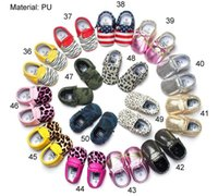 Wholesale Soft Leather Toddler Shoes Sale - Hot Sale Baby First Walker Shoes Baby Soft Sole PU flannel Bow Tassel Booties Toddlers Shoes
