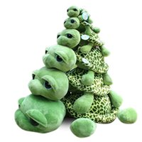 Wholesale Stuffed Green Turtle - Turtle Animals Plush Doll Cartoon Stuffed Toys For Children Adult XMAS Toys Gifts 20cm(8inch) 25cm(10inch) 40cm(16inch) 55cm(22inch) WX-T55