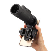 Wholesale Wholesale Monocular - Enlarge Universal 12x50 Hiking Concert Camera Lens Telescope Monocular With No Holder For Smartphone Free Shipping DHL