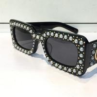 Wholesale men popular - 0146S Sunglasses Black Acetate Square Frame With Popular 0146 Design Frame Popular UV Protection Sunglasses Top Quality Fashion Summer Style