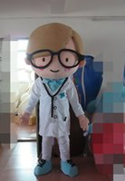 Wholesale Doctor Mascot Costumes - Wholesale-Free shipping high quality adult doctor mascot costume