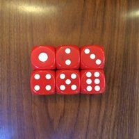 Wholesale Dice Funny - D6 25mm Rounded Corner Big Dice Kid Educational Game Dices Family Pub Bar Party Drinking Games Dices Game Toy Gambling Boson Funny #R24