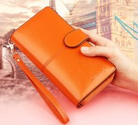 Wholesale Wholesale Cowhide Wallets - wholesale original genuine girl leather wallet 2pcs lot