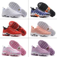 Wholesale Tn Max - 2017 Maxes Plus TN Ultra 3M Reflective Women Men Runing Shoes Gold Black White Red Maxes Tn Runner Sneaker Size US5.5-US12