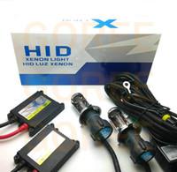 Wholesale Kit Bixenon - 1set 12V H4-3 xenon H4 Bixenon H4 kit hid hi lo 9007-3 9007 9004 9004-3 H13 BI-XENON H4 Bi xenon H4 hid kit car headlight source