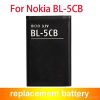 Wholesale Bl 5cb Battery - Best Quality BL-5CB BL5CB Replacement Mobile Phone Battery For Nokia 1100 1680 1800 800mAh