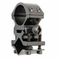 klammer blinkt großhandel-KC Feuer Metallschiene Clip 25mm Ring 20mm Schiene Gun Mount Taktische Taschenlampe Laser Taschenlampe Halterung für 501B C8 Jagd Blitzlicht