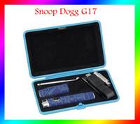 Wholesale Ecig Travel Case - Snoop Dogg G17 Wax Vaporizer Pen Micro E-Cigarette Elips Flat Snoop Dogg G Pro Travel Case Portable Dry Herb Ecig Kit