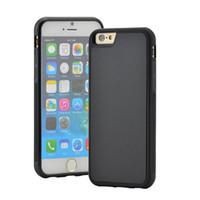 samsung edge cases al por mayor-Funda para teléfono antigravedad para iPhone 11 pro Xs Max Xr 6s 8 7 plus Samsung Note10 S9 S8 S7 edge Magic Sticks Funda antigravedad nano succión