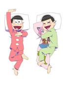 Wholesale Hot Anime Pillowcase - March 2016 update hot anime Osomatsu-kun Characters matsuno choromatsu & matsuno choromatsu body Pillowcase Dakimakura