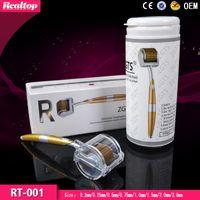 Wholesale Dermaroller Zgts - Most Popular Titanium Micro Needle Roller Skin Rejuvenation Titanium Needles Zgts Dermaroller For Skin Care Beauty Tool