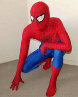 Wholesale Spider Man Mascots - wholesale Cartoon mascot costumes Clothing Adult Child Superman Spider-man Cartoon Costume tights