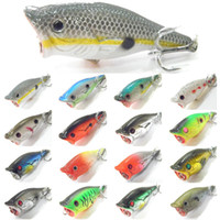 Wholesale Walleye Lures - Fishing Lure Topwater Popper Crankbait Hard Bait Fresh Water Shallow Water Bass Walleye Crappie Fishing Tackle T626