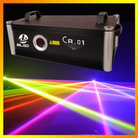 High Power 30kPPS 5W CR-01 RGB Color Animation 5000mw Club Laser Light Bar Диско DJ лазерное освещение Stage Performance Laser Projecotor