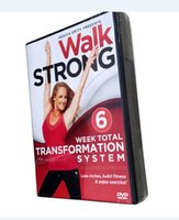 Wholesale Disc System - Walk Strong: 6 Week Total Transformation System Workout Fitness 4 Disc Set US Version Region 1 Boxset New