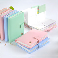 Wholesale Sweet Notebook - Wholesale- Weekly Planner Sweet Notebook Creative Student Schedule Diary Book Color Pages School Supplies