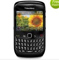 telefone 2g desbloqueado venda por atacado-Original blackberry 8520 2,46 polegadas 2MP QWERTY teclado WIFI 2G GSM remodelado desbloqueado telefone móvel
