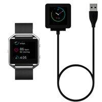 montre-bracelet usb achat en gros de-2016 Nouveau USB Chargeur Câble D'alimentation Batterie Chargeur Dock Cradle Pour Fitbit Blaze Montre Smart Watch Bracelet