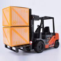 Wholesale Model Lifts - Lili internal combustion forklift forklift truck inertial lift children boy toy car model