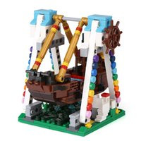 Wholesale Pirate Toy Box - XingBao 01109 The Pirate Ship Set 520pcs with Original Box for Reselling Lepin Blocks Colorful World Series XB01109 Lepin Toys