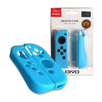 Wholesale game joy for sale - For Nintendo Switch Silicon Rubber Case Protector Cover Skins For Joy Con Game Console Controller With Retail Package High Quality
