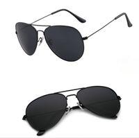 Wholesale Sunglasses Cheap Pilot - Good Quality Men's Women's Alloy Frame Glass Lens Sunglasses Man Woman Sun glasses 19 colors available Cheap