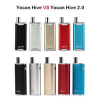 Wholesale Boxes For Cigarettes - Authentic Yocan Hive & Yocan Hive 2.0 2 in 1 Kit E Cigarettes Vaporizer Kits For Wax & Oil 650mAh Vape Box Mod
